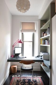escritorio con luz