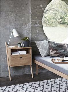 Nachttisch von HÜBSCH Interior