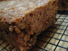 Oatmeal Cinnamon Zucchini Bread - Real Mom Kitchen Used 2 bananas and of applesauce in place of eggs and 1 cup of coconut oil instead of oil. Didn't use any cinnamon chips. Cinnamon Zucchini Bread, Cinnamon Chips, Zuchinni Bread, Yummy Treats, Yummy Food, Tasty, Just Desserts, Dessert Recipes, Healthy Desserts