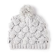 Sole Society chunky knit beanie w/ pom Winter Accessories, Fashion Accessories, Winter Hats For Women, Knit Beanie, Grey Beanie, Playing Dress Up, Passion For Fashion, Knitted Hats, Knitwear