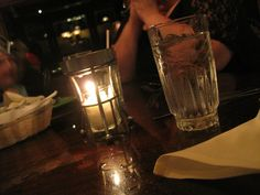 light at dinner!