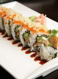 Sunda sushi -- nom nom! #reasonsimisschicago