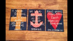 Bible Verse Canvas. Very Cute!