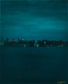 Acrylic Painting Canvas Board, Night City, Acrylic Painting Canvas, Seattle Skyline, Original Paintings, The Originals, Artist, Artwork, Work Of Art