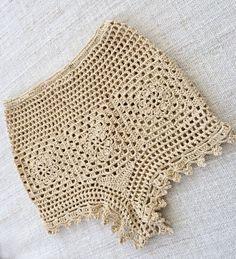 This item is unavailable - Trend Unisex Mode 2019 Crochet Pants, Crochet Clothes, Knit Crochet, Crochet Afghans, Crochet Short Dresses, Crochet Placemats, Boho Style Dresses, Lace Knitting, Crochet Bikini