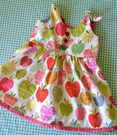 I need more babies to sew for. Girls especially. Seriously, after I finished up this little outfit for a baby shower gift last week, I hav...