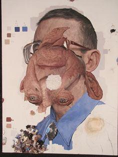 "Colin Chillag, ""Portrait of a Man,"" 2012,  oil on linen"