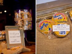 moon pie favors // photo by  Adam + Alli Photography