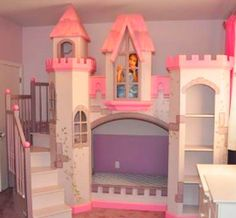 Love this princess bed .... I would have loved this as a littlen!