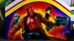 Hellboy (airbrush)
