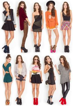 Jeffrey Campbell - I love everything, the clothes, shoes, hair, except the pink and leopard booties.