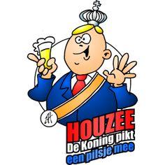 Koningsdag - King's Day with text fc T-Shirt design. #Tshirts #illustration #design #drawing #customprint #POD #CardvibesCatalog #Cardvibes #Tekenaartje #Zazzle #Spreadshirt #Redbubble #Society6