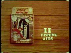 """K-tel """"Fishin' Magician"""" commercial"""