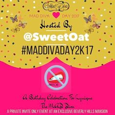 🥃🍷🥂🍻🍹🍹🍸 SAVE THE DATE 3.4.2017!!!! 🍷🥂🍻🍹🍹🍸The link is in the bio.... MAD DIVA DAY AND PISCES SEASON IS QUICKLY APPROACHING.... and this year is gonna be a 🎥📹📽movie📽🎞📹🎥 • • 🎈🎈🎈We will be partying at an exclusive mansion in Beverly Hills!🎈🎈🎈 We have a few amazing vendors and sponsors on board, lots of loved ones already confirmed and you all have an advance notice for #MADDIVADAY2K17 GET YOUR TICKETS EARLY BECAUSE EVENT WILL FILL UP TO CAPACITY and this one is…