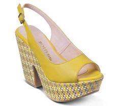Sandália plataforma estilo peep-toe | Sandálias | Bottero Calçados