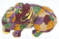 Yy Judith Leiber Chinese Foo Dog dragon Red Gold  Minaudiere Evening Bag Lieber #JudithLeiberLieberdesignercouture #ClutchEveningBagShoulder