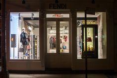 The Fendi Soho Pop-Up in 122 Greene Street, New York