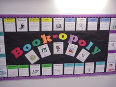 Book-opoly Bulletin Board | Flickr - Photo Sharing!