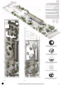 Mención Honrosa Concurso de Ideas Museo Mario Toral,Lámina 01