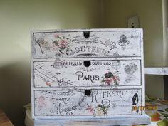 cassettiera in legno (porta documenti) tutto transfer