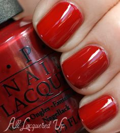 OPI San Francisco Fall 2013 Silver & Red Nail Polish Swatches   All Lacquered Up http://www.retrokimmer.com/