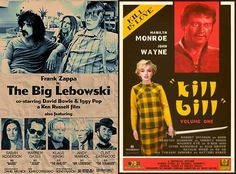 Frank Zappa as the Big Lebowski, Clint Eastwood as Wolverine? Retro Reimaginings of Classic Movie Posters|Martin Newman