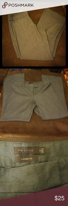 The Limited Cassidy Fit Gray Dress Pants! Super Cute gray Limited slacks. Barely Worn The Limited Pants Trousers