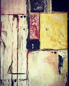 Polar bear and the sad waiter 50x70 akrill on canvas