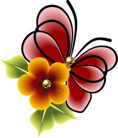 Decoupage, Beadwork Designs, One Stroke Painting, Butterfly Art, Art Logo, Clipart, Zentangle, Art Drawings, Manicure