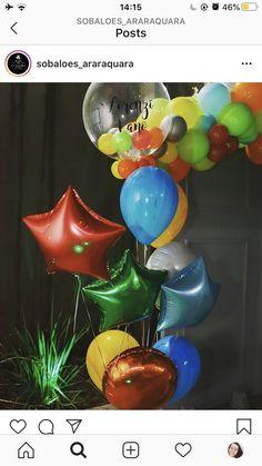 1st Baby Boy and Girl Balloons Birthday Party Decor Bar Christmas Gift Pip MECA