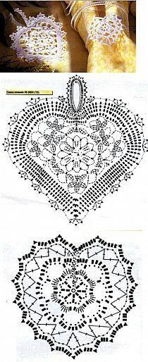 bedspread, blanket pattern on / crochet hook on Stylowi. Crochet Motif Patterns, Crochet Chart, Crochet Squares, Thread Crochet, Crochet Designs, Tops A Crochet, Diy Crochet, Crochet Hooks, Crochet Christmas Ornaments