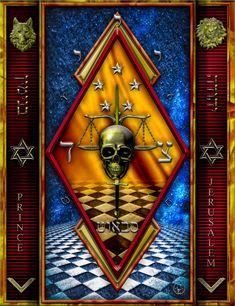 Masonic Art, Freemasonry, Occult, Bottle, Wall, Flask, Supernatural