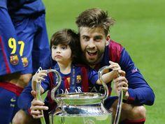 Pique & Milan, FC Barcelona UEFA Champions 2015