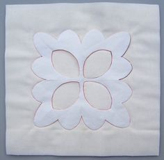 No-Mark Quilting Tip - secure stitches with the locking stitch