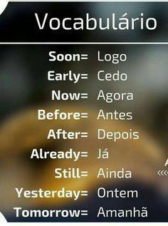 Portuguese Lessons, Learn Portuguese, Spanish Lessons, English Lessons, English Class, French Lessons, English Help, English Time, Learn English Words