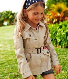 #Children #fashion #DOTS #trench #coat