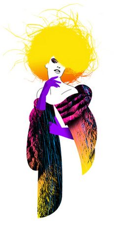 GLAMOUR MAGAZINE GERMANY - TIME FOR IMPORTANT DECISIONS by LUIS TINOCO - ILLUSTRATOR, via Flickr