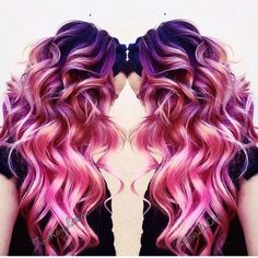 30 Bold Hair Colour Ideas You Should Try For 2016 – Page 2 - coloration - Bold Hair Color, Ombre Hair Color, New Hair Colors, Crazy Hair Colour, Bright Hair, Mermaid Hair, Mermaid Makeup, Trendy Hairstyles, Braided Hairstyles