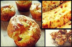 Εύκολη συνταγή για Αλμυρά muffins (κεκάκια) Savoury Cake, Finger Foods, Baked Potato, Muffins, Bakery, Food And Drink, Appetizers, Cooking Recipes, Favorite Recipes
