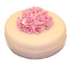 Luxusná torta s kvetmi č.99 Cena 70 € Počet porcií 12-16 ks