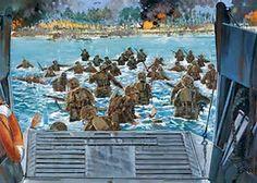 Tarawa Battle Art