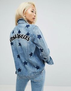 414ee773df937c Discover Fashion Online Veste En Denim, Veste Imprimée, Pepe Jeans,  Impression Étoile,