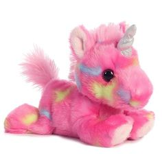 Jellyroll Pink Unicorn Plush Stuffed Animal Toy - New in Toys & Hobbies, Stuffed Animals, Other Stuffed Animals Unicorn Stuffed Animal, Sewing Stuffed Animals, Unicorn Gifts, Unicorn Books, Unicorn Party, Love My Kids, Mermaid Blanket, Toy Sale, Toddler Preschool