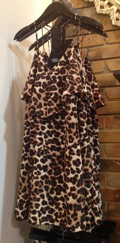 Meow! We're going wild over this adorable leopard dress!