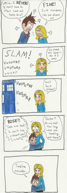 The Doctor has an Argument by ~CaptainAki13 on deviantART