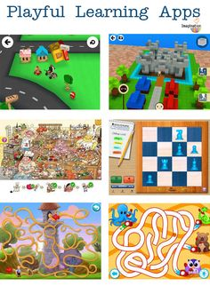 playful learning apps for kids - great for travel!