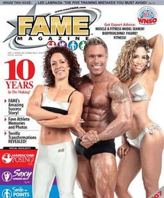 Lyzabeth Lopez on the Cover of Fame Magazine