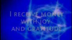 Prosperity affirmations - I receive money with joy and gratitude https://train2gain.pro