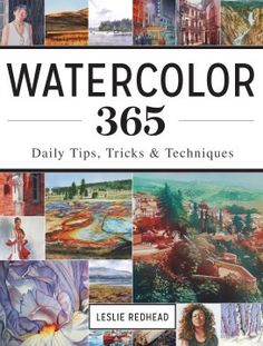 Watercolor 365 is designed to fit your life, turning every day into inspiration for your art. Order your copy today to build your artistic skills daily!