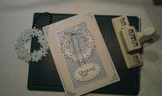 Homemade Christmas Card, to see more cards go to poletta.dk